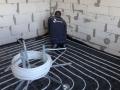 Vianara - grindinio šildymo įrengimas